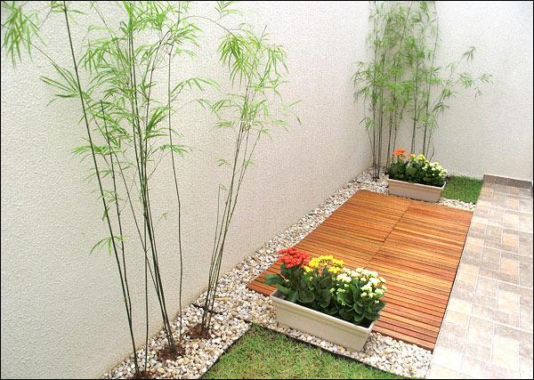 deck em jardim pequeno:deck1