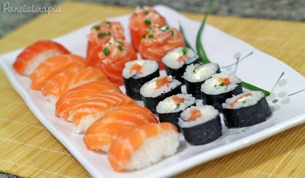 Como fazer sushi panelaterapia for Como hacer arroz para sushi
