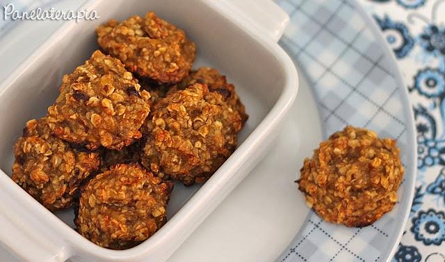 Cookies Saudáveis de Banana e Aveia