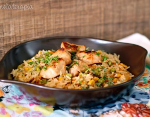 arroz-frango-fácil