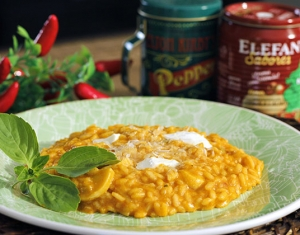 risoto tomate
