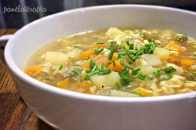 sopa-vegetariana