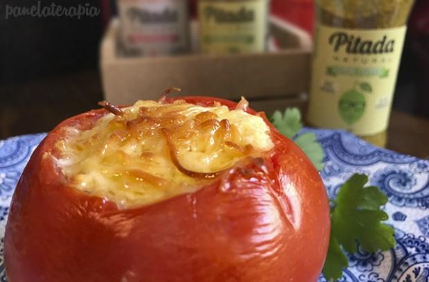 Tomates Recheados com Creme de Queijo