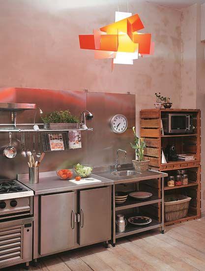 Tem Na Web - Estilo industrial na Cozinha